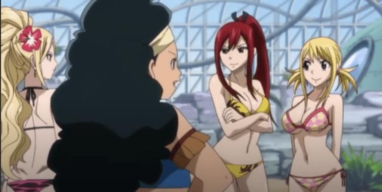Fairy Tail OVA ecchii compilation